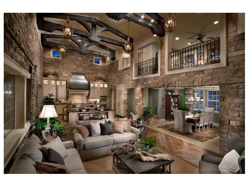 Open Concept Living Room Taken To The Extreme The Overlook At