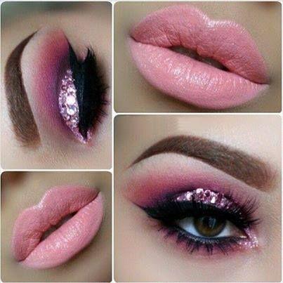 Pink Eye & Lip Makeup! #yesfor