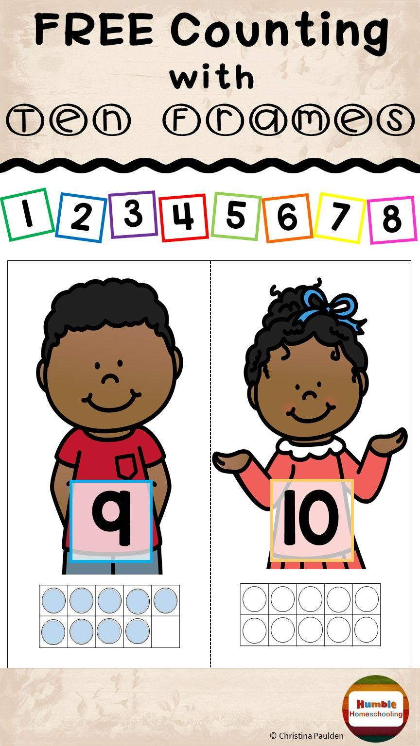 Pin By Unstoppable Learning On Techy Classroom Ten Frames Math Numbers Early Math [ 1536 x 864 Pixel ]
