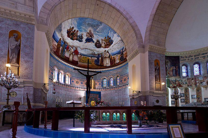 Photo De La L Interieur De La Basilique Notre Dame D Afrique D Alger Basilique Notre Dame Basilique Alger