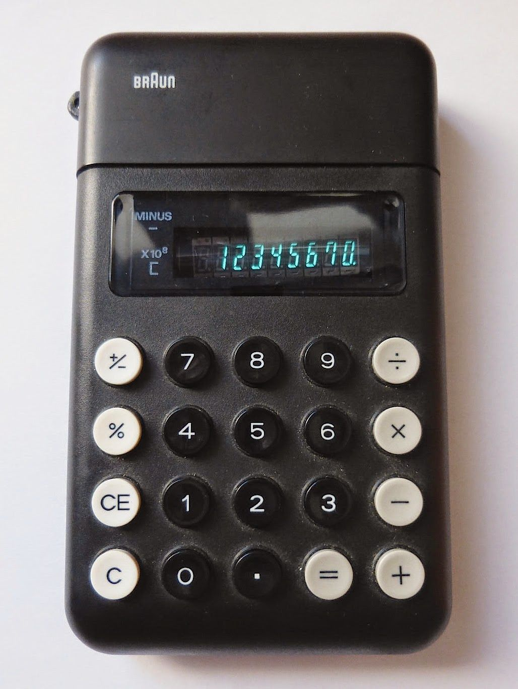 Braun Control ET11 / Typ:4954 / the first Calculator