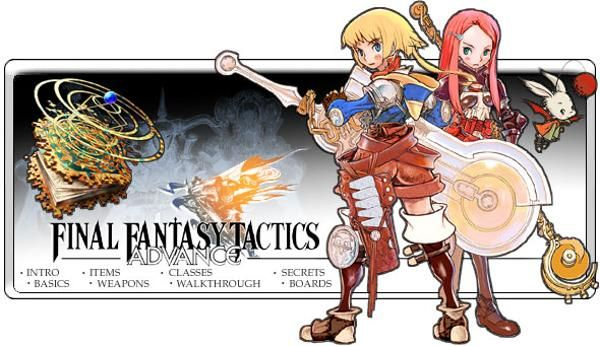 Final Fantasy Tactics Advance Relive A Piece Of The Fft Magic With A Quarter Of The Time Investment Looks Cool Personagens