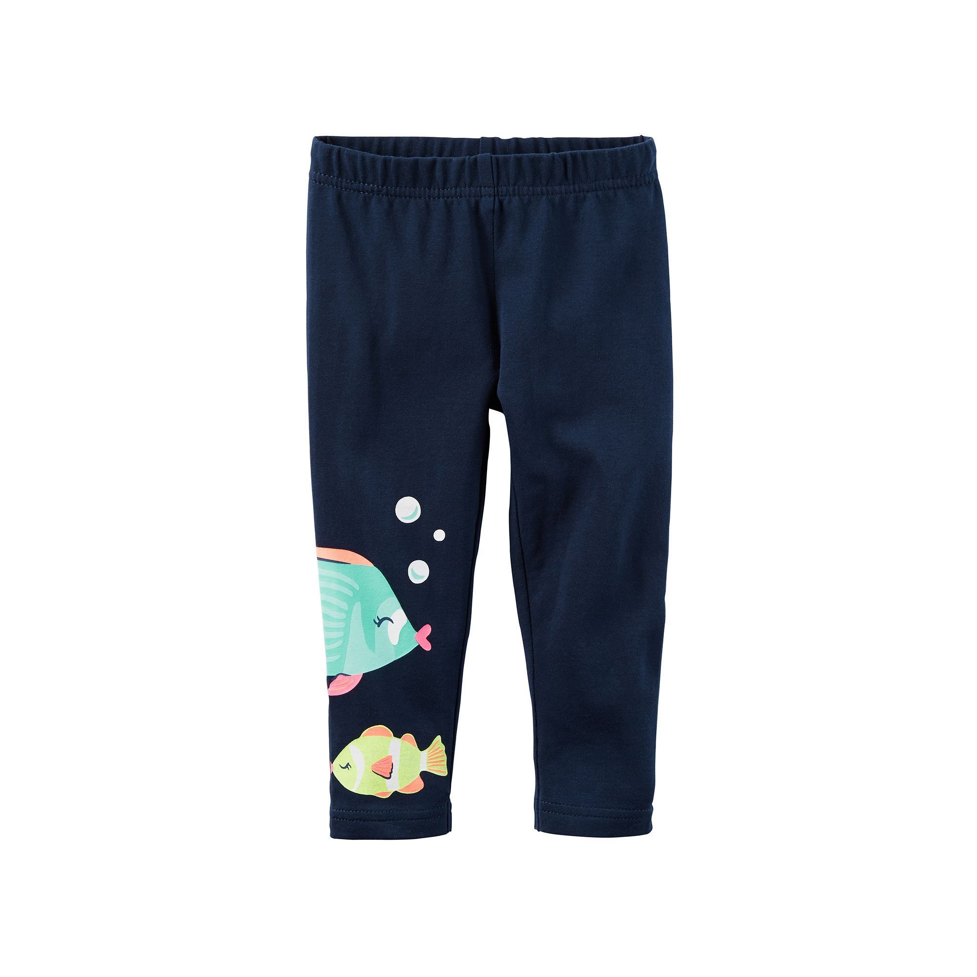 NEW Carter/'s French Terry Pants Girls Patch NWT 18m 3T 4T 5T 6 7 8 Blue Joggers