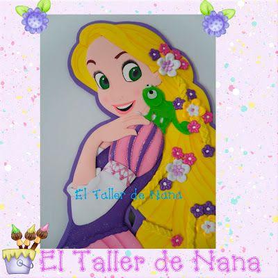 Princesas Rapunzel Pelicula Enredada Enredados