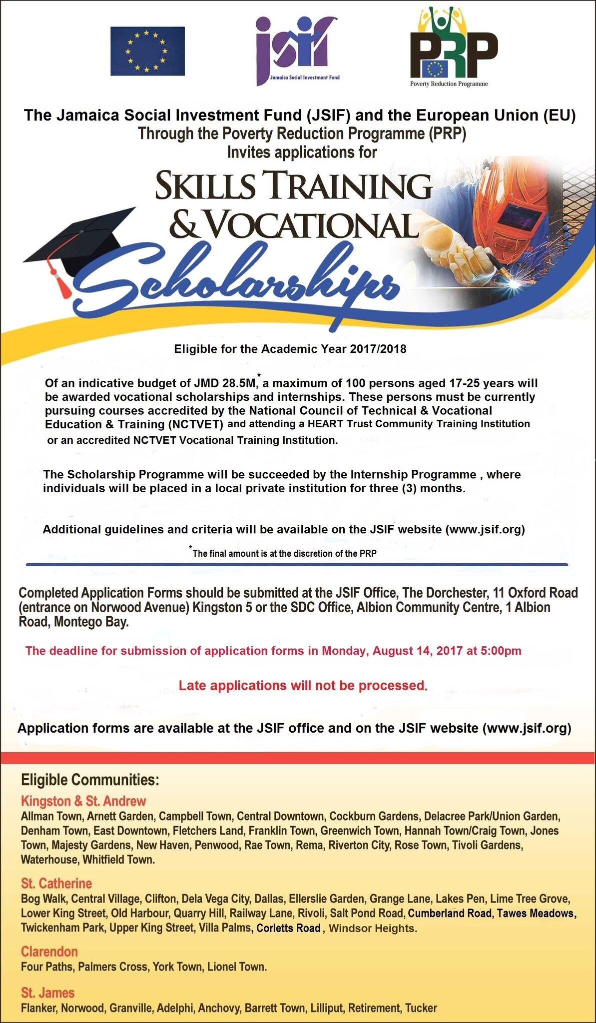 Apply For The Jsifja Tertiary Scholarships For The