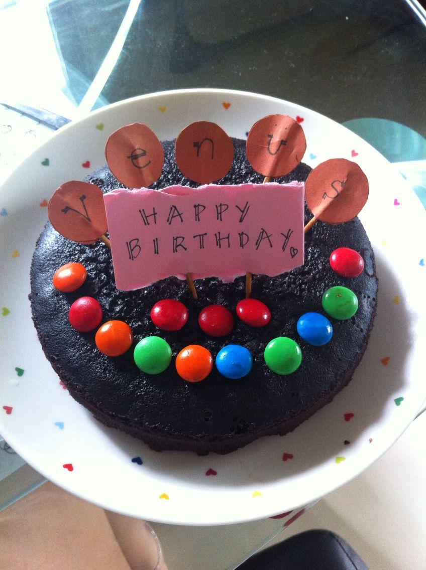 Woohoo~ sis homemade cake for me ;) so much love!