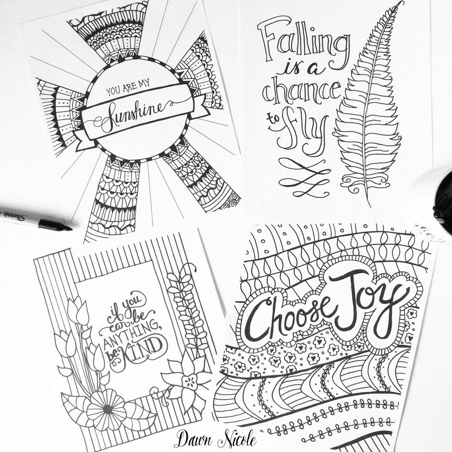 Dawn Nicole Designs Coloring Books Coloring Pages Coloring Pages Inspirational