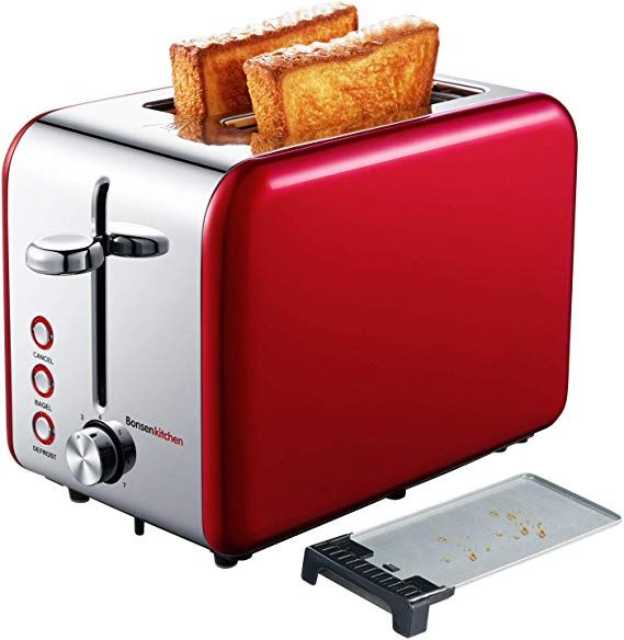 SMEG Retro Style Aesthetic 4 Slot Toaster 1800 W Electric CHOOSE FROM 7 COLORS