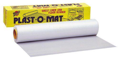 Plast O Mat Ribbed Shelf Liner Adorable Warp Brothers Pm50 Clear Plastomat Ribbed Flooring Runner Roll Design Inspiration