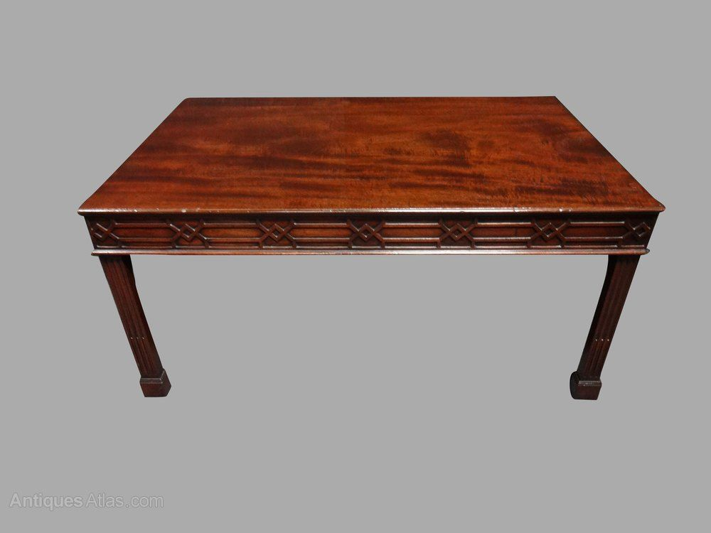 A Very Good Chippendale Mahogany Coffee Table Antiques Atlas