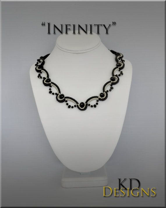 Tutorial/Pattern for Infinity by KDDesignsbyKDevine on Etsy