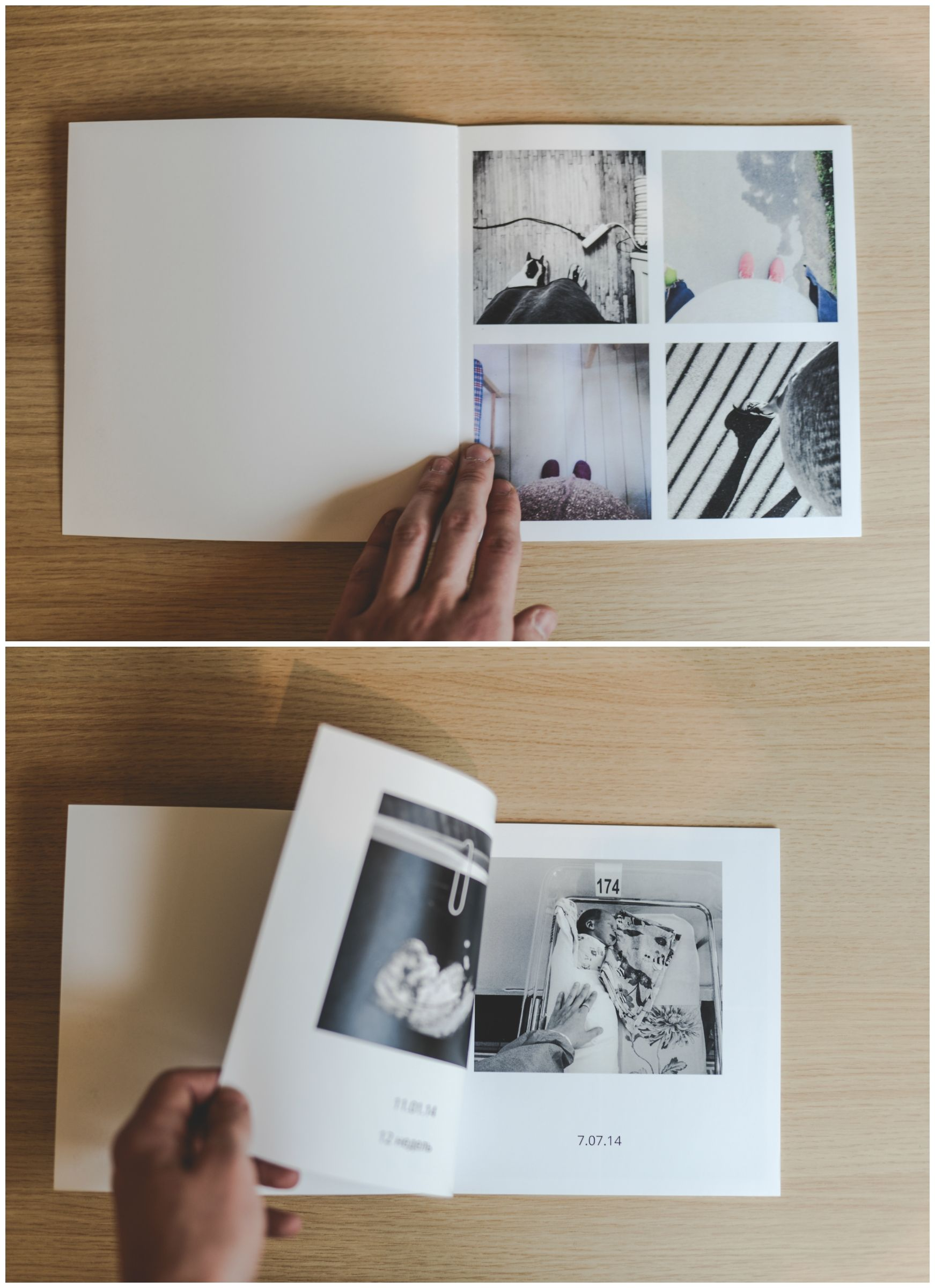 A minimal photo book layout for a clean aesthetic look for Best books on minimalism