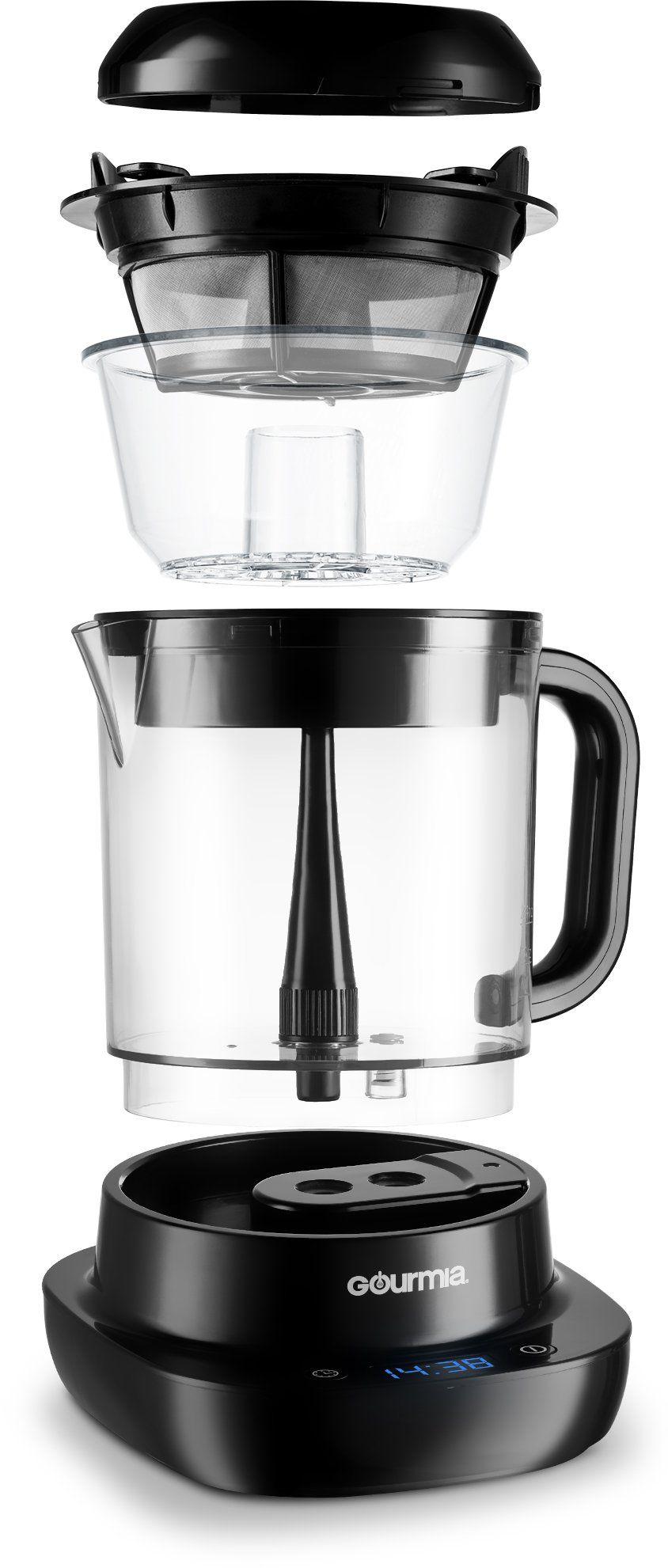 Gourmia GCM6800 Automatic Cold Brew Coffee Maker 10