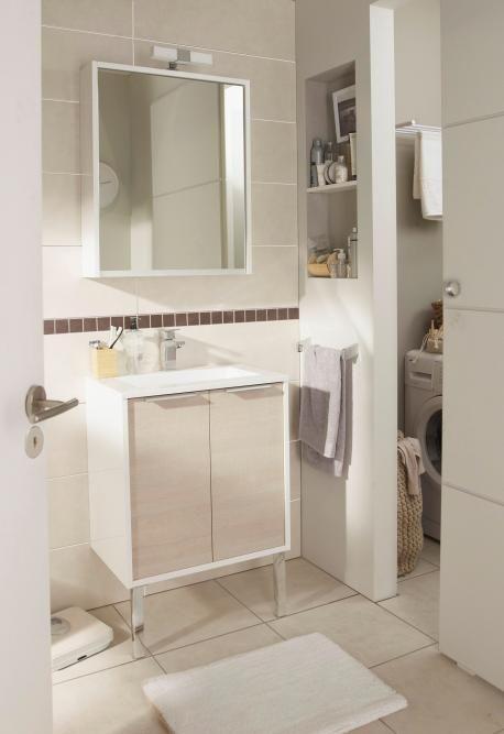 Meuble de salle de bains mod le today - Meuble salle de bain lapeyre ...