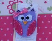 Cute owl clip