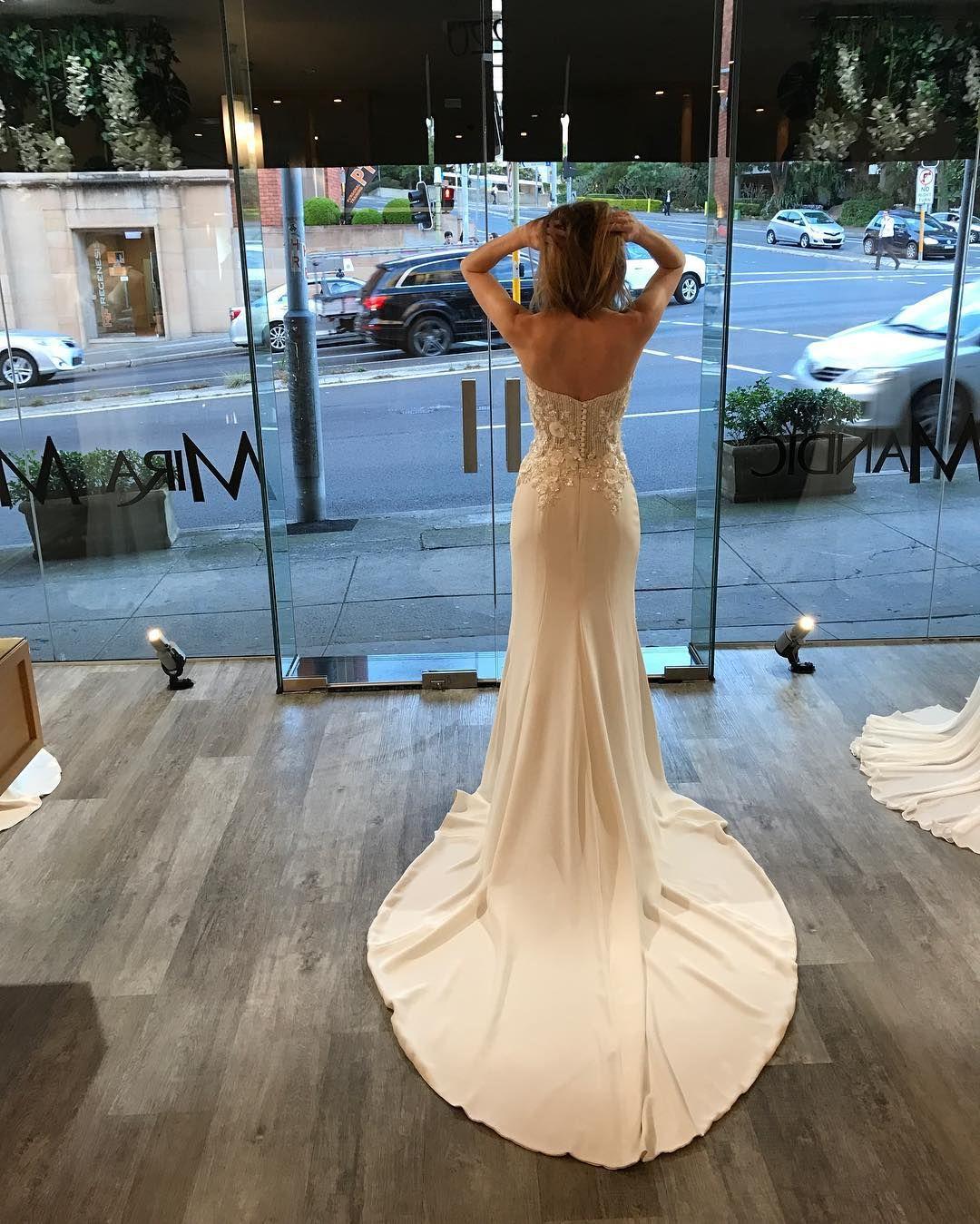 Mira Mandic bride | boutique vibes - wedding dress, Double Bay ...