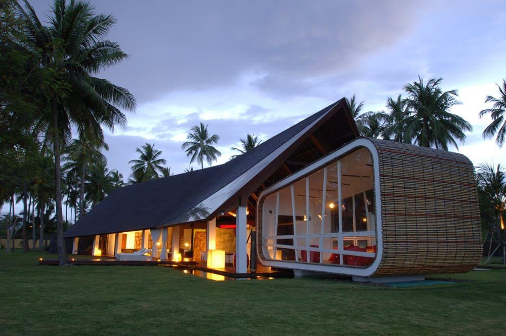 Belle maison d\u0027architecte de luxe à louer à Lombok #modern #deco