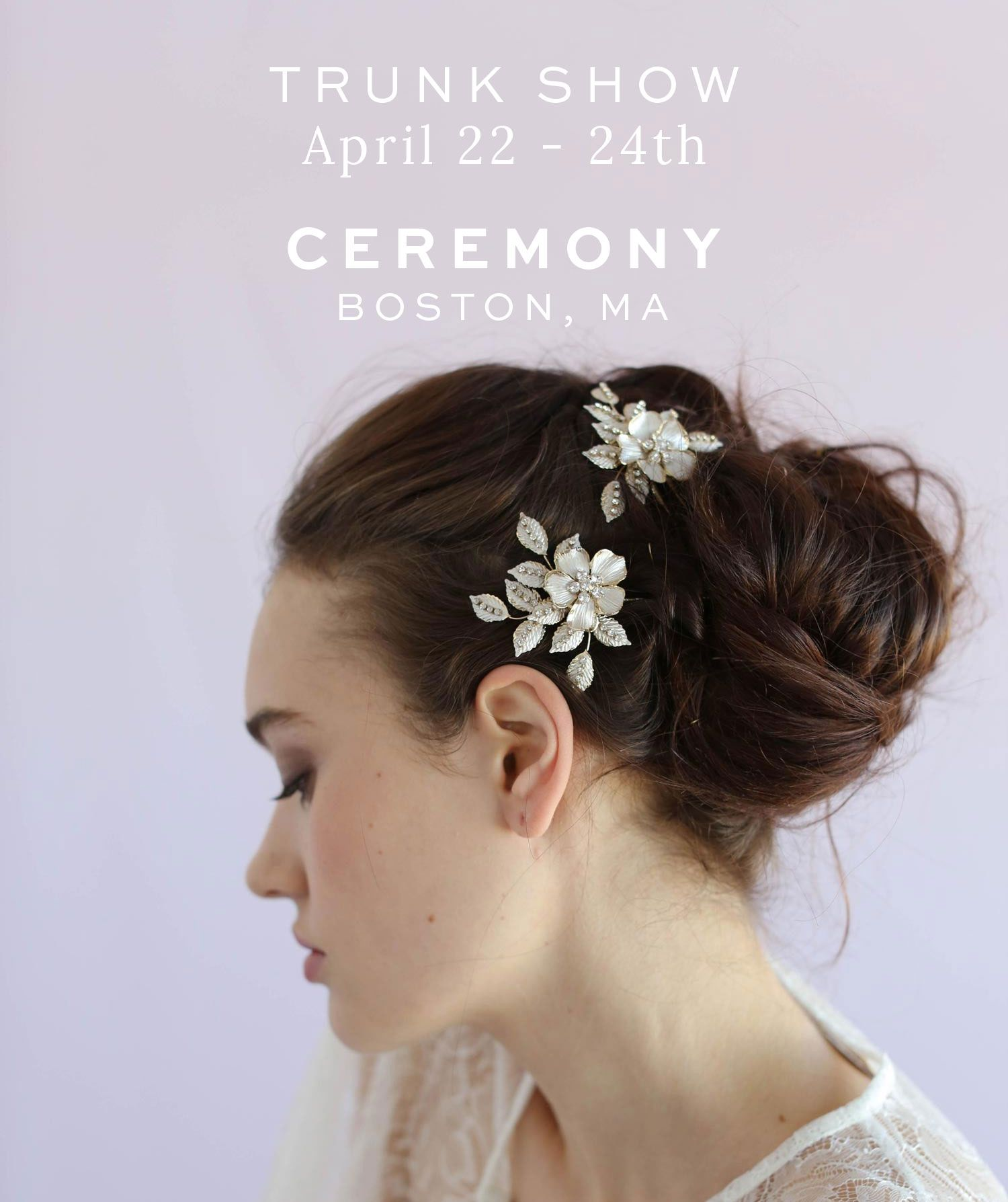 twigs and honey trunk show, boston, ceremony | bridal