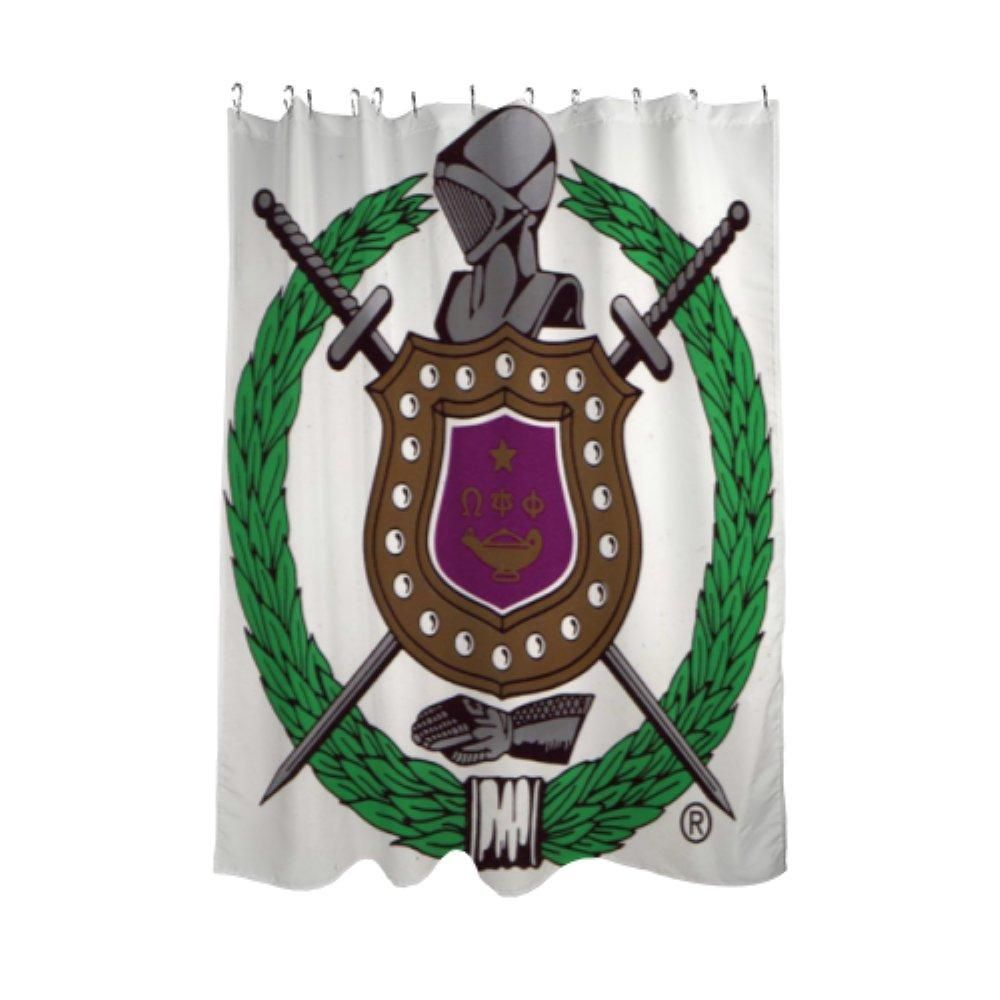 Omega Psi Phi Shower Curtain Products Omega Psi Phi