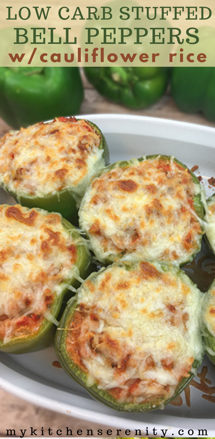 Easy Low Carb Stuffed Bell Peppers #bellpepperrecipes