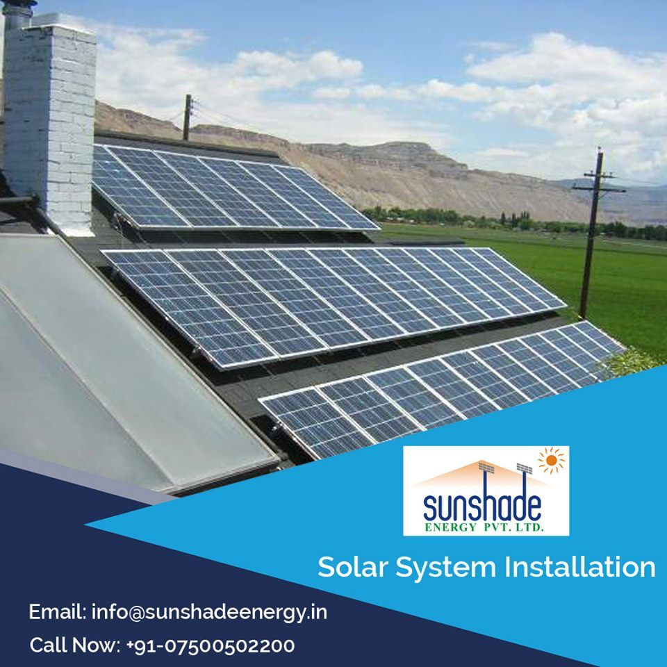 Www Sunshadeenergy In Get The Best Solar Panel In Aligarh Sunshade Energy Have A Vision To Lead It From The Front S Solar Solar Solutions Best Solar Panels