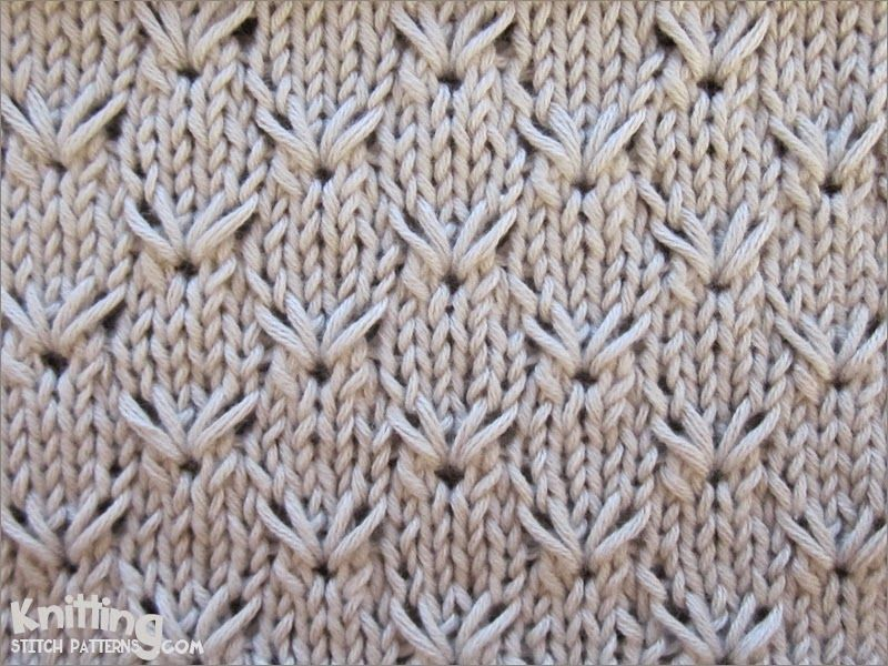 Knitting Stitch Patterns Easy : Embroidery pattern repeat is only rows and super