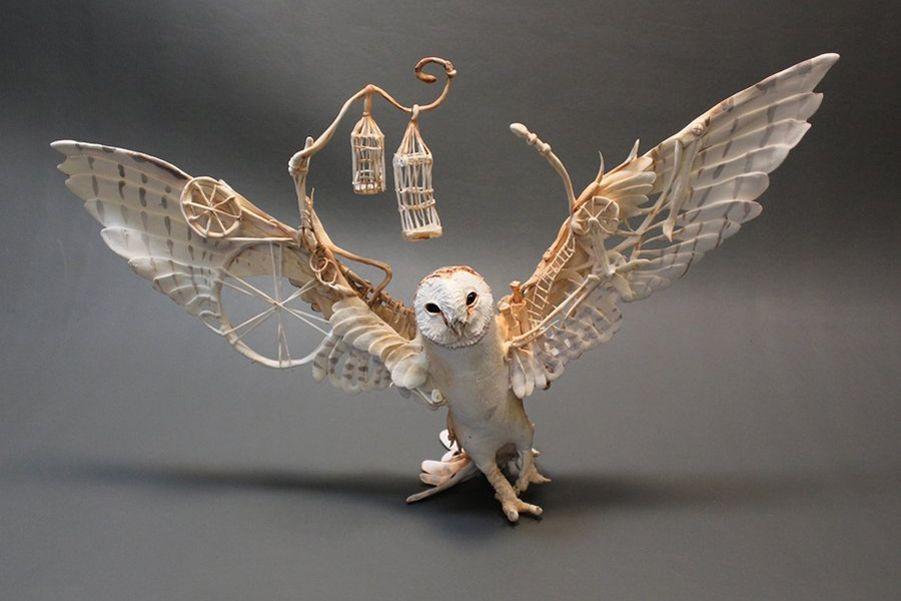 Эти невероятные работы создает мастерица из Канады Эллен Джун (Ellen June).