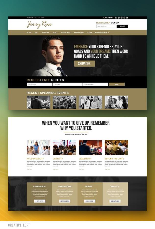 Creative Designer Website Concept Website Inspiration Stunning Website Beautiful Websit Website Inspiration Web Development Design Beautiful Website Design