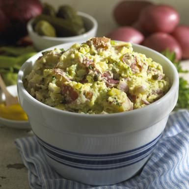 Quick & Healthy Classic Potato Salad Recipe: Quick and Healthy Potato Salad