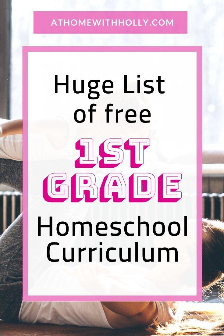 First Grade Homeschool Curriculum Free Homeschool