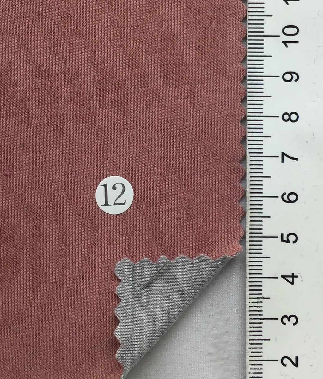 3ef58c230d6 Fabric textile - Dusty Pink / Single cotton jersey / Cotton(100%) / Solid /  Double-faced