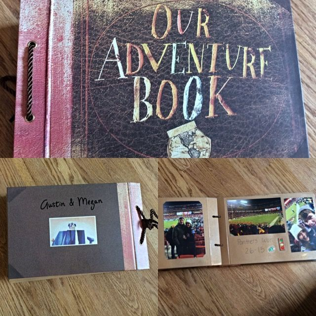 I Made This As A One Year Anniversary Gift I Took Pictures From Our Entire First Year Together And Made A Scrapbook I Found The Book On Amazon It I