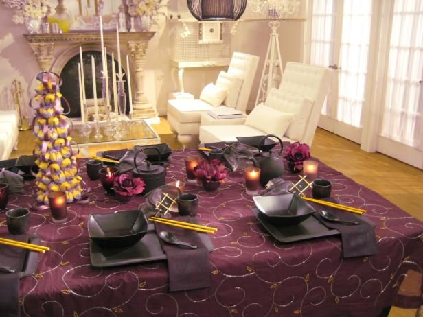 Sandra Lee Tablescapes   Sandra lee tablescapes, Tablescapes and Banquet