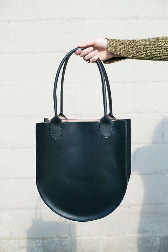 Sara Barner - Black Russell Tote   BONA DRAG   Handbags Purses ... 52abd2d175b
