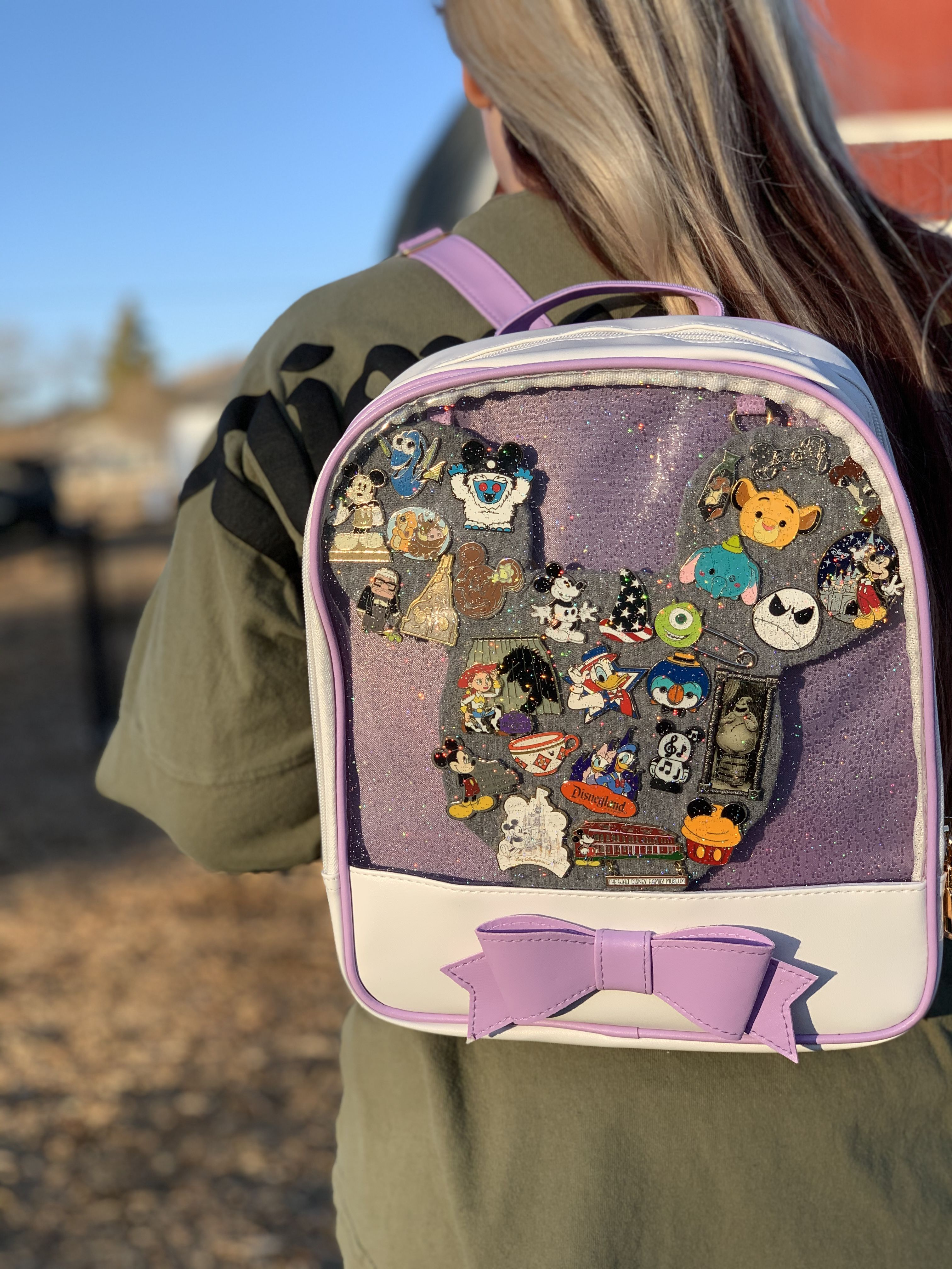 Disney pin display backpack   Unique items products ...