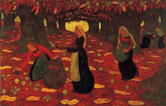 Georges Lacombe - Chestnut Gatherers (1893)