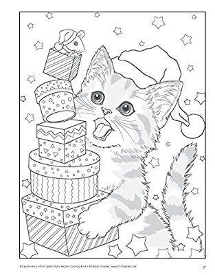 Santa\'s Furry Helpers Coloring Book Colouring Books: Amazon.de ...