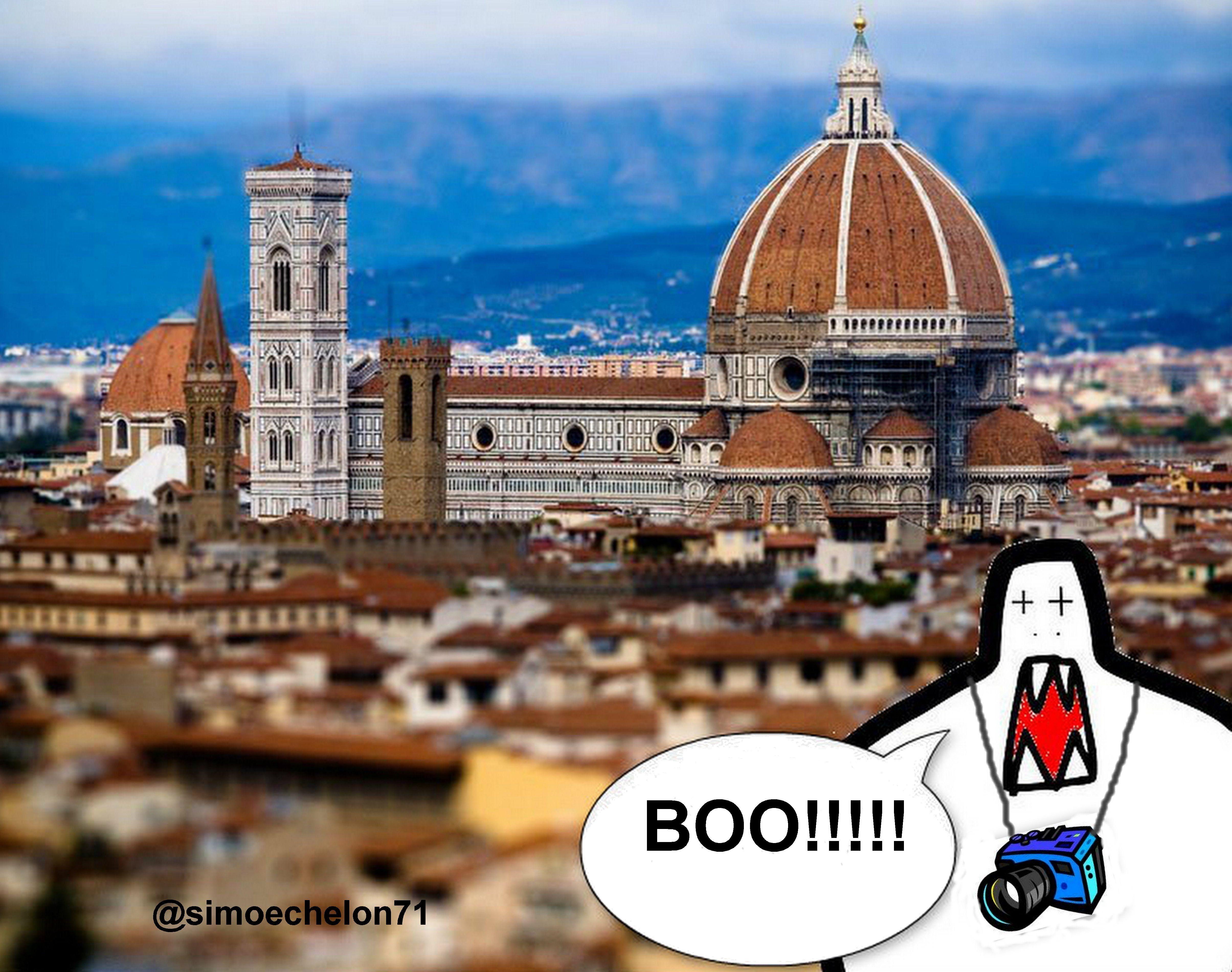 Boo in Florence #CREEPSart