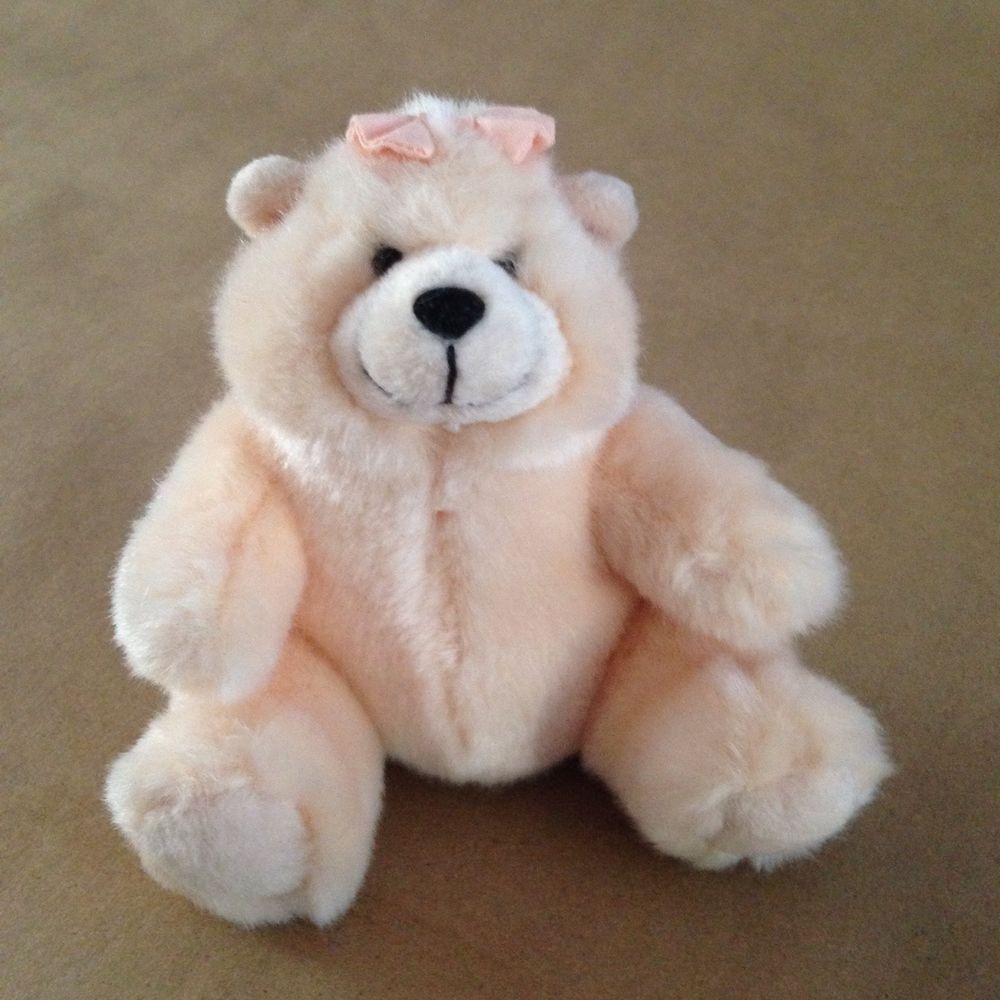 Charmin Plush Teddy Girl Bear Amy By Russ 4 1 2 Toilet Paper Mascot Soft Peach Teddy Girl Charmin Teddy Bear [ 1000 x 1000 Pixel ]