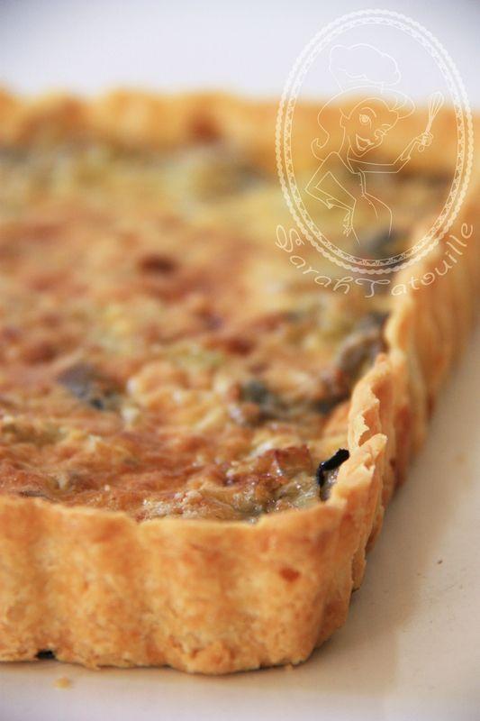 Tarte aux poireaux champignons pate brisee au parmesan sarah tatouille le poireau parmesan - Poireaux a repiquer vente ...