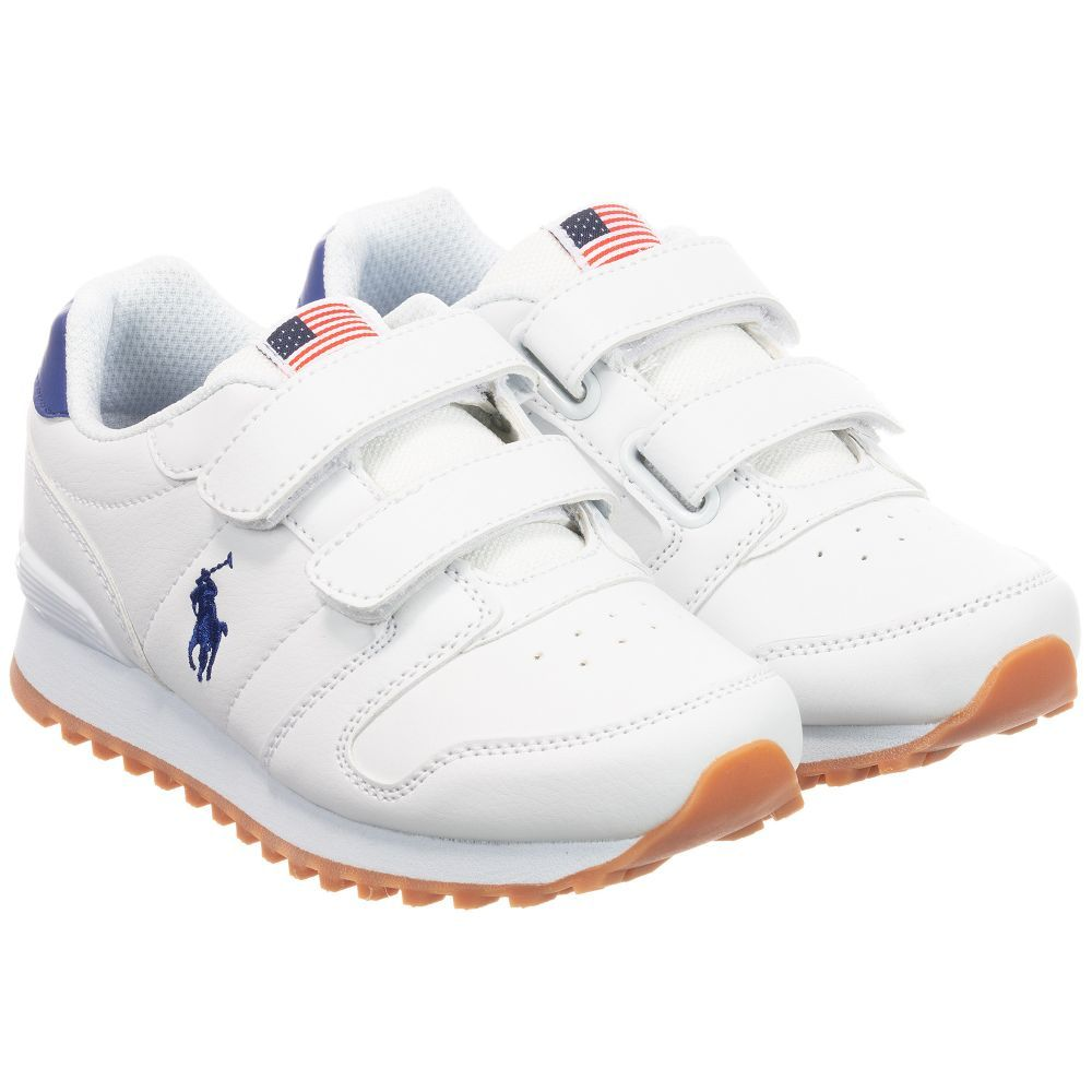 Unisex white trainers from Polo Ralph
