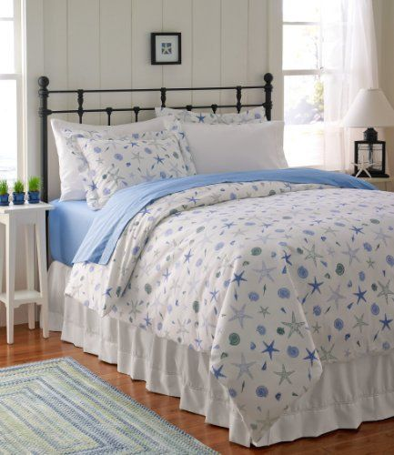 Seashell Percale Comforter Cover By L L Bean 89 00 This Fresh