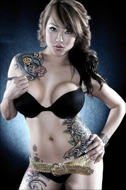 Simply hot sexy girls tattoo pity