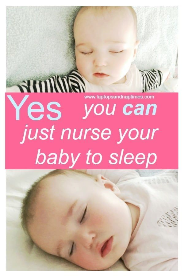 Why breastfeeding to sleep is NOT bad for you - or your baby. If sleep training just isn't for you and your baby falls asleep naturally and happily while breastfeeding, keep doing it! There's no need to change what's working as this post explains.