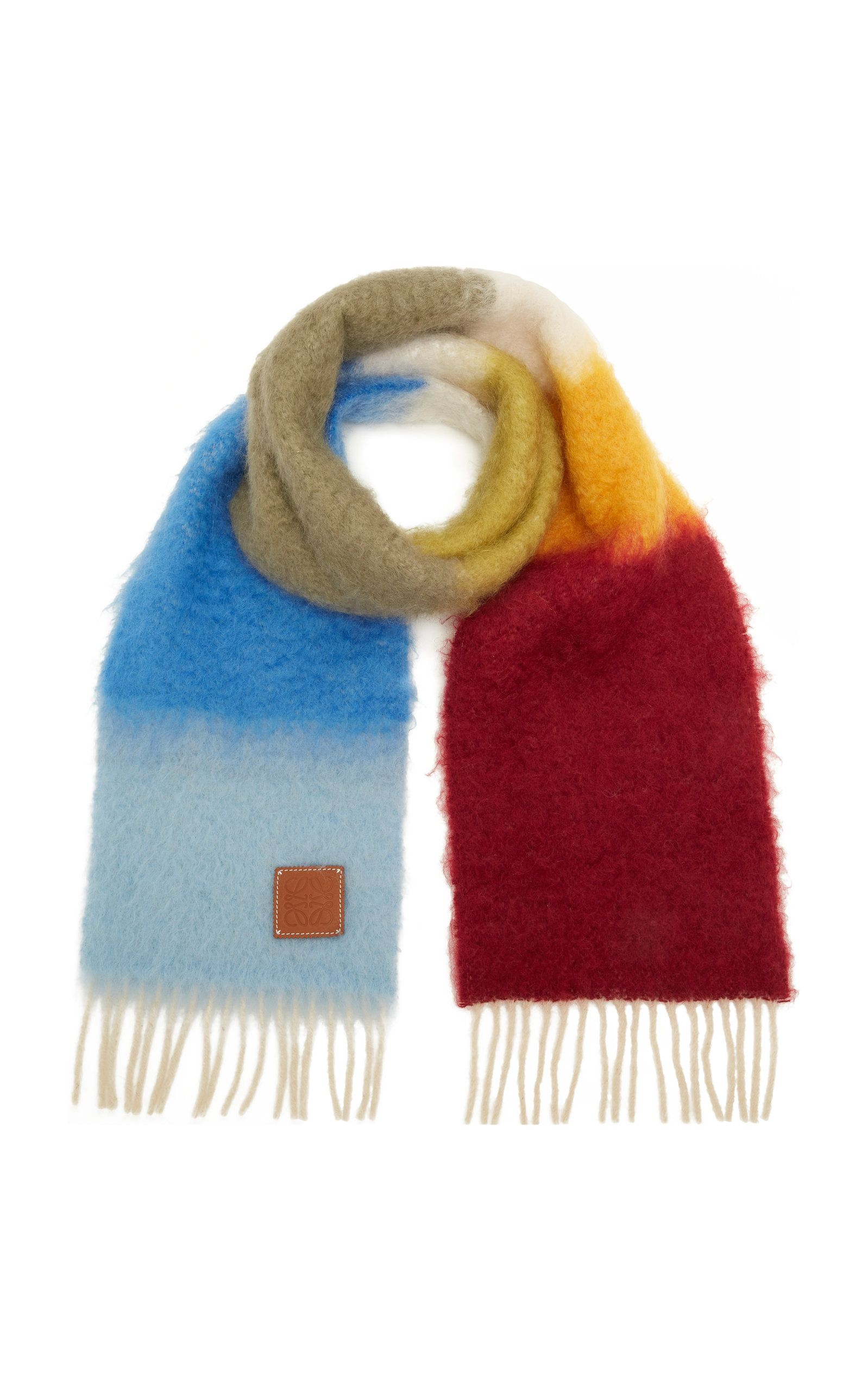 Photo of Striped Mohair Scarf