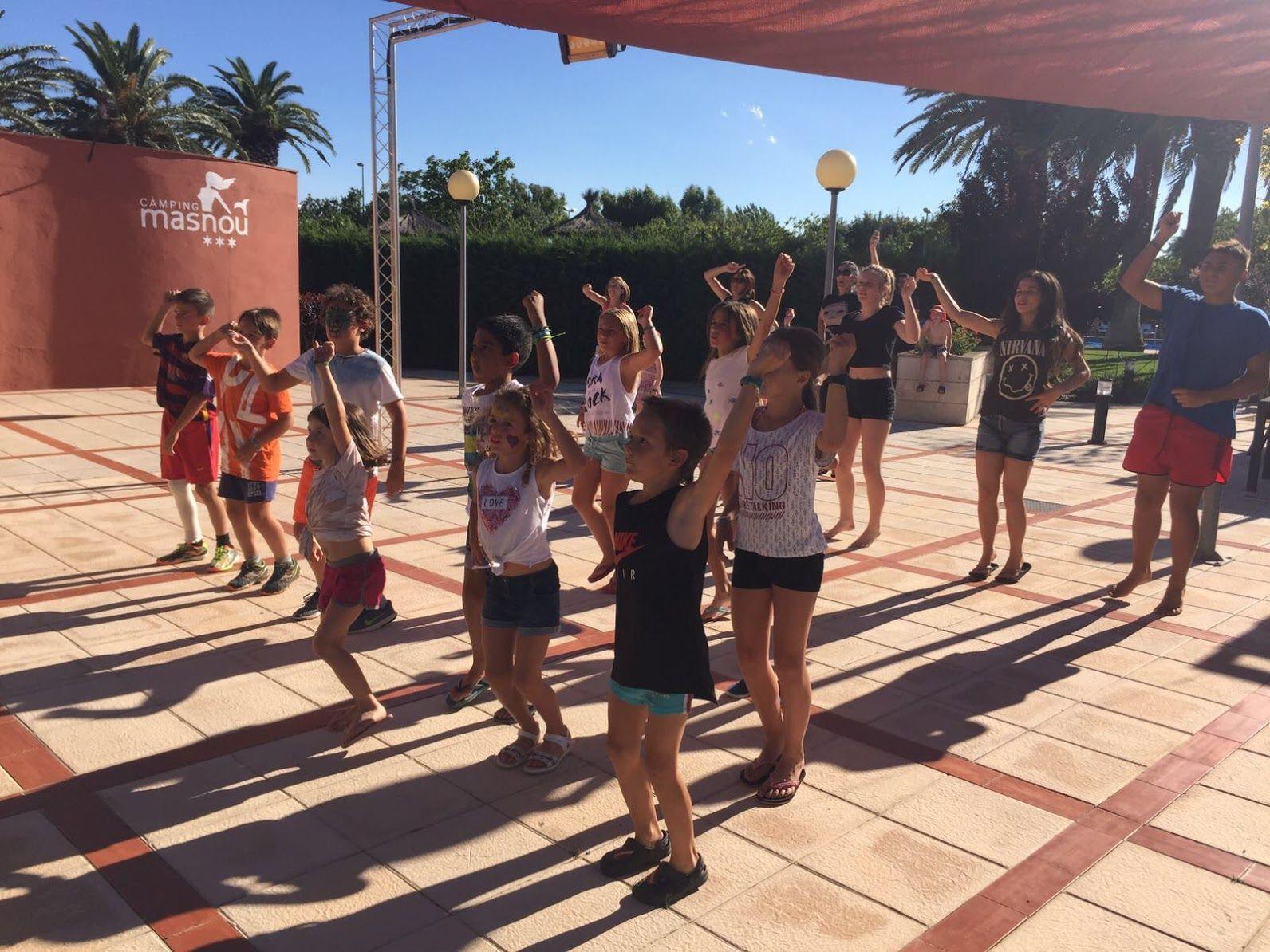 Sctividades de animación. #zumba #dance #baile #kids #miniclub