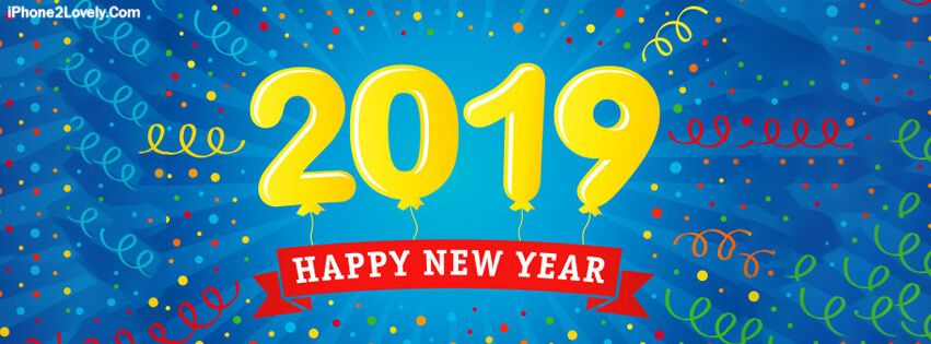 Happy New Year 2019 Facebook Covers | Happy New Year My Love 2019 ...