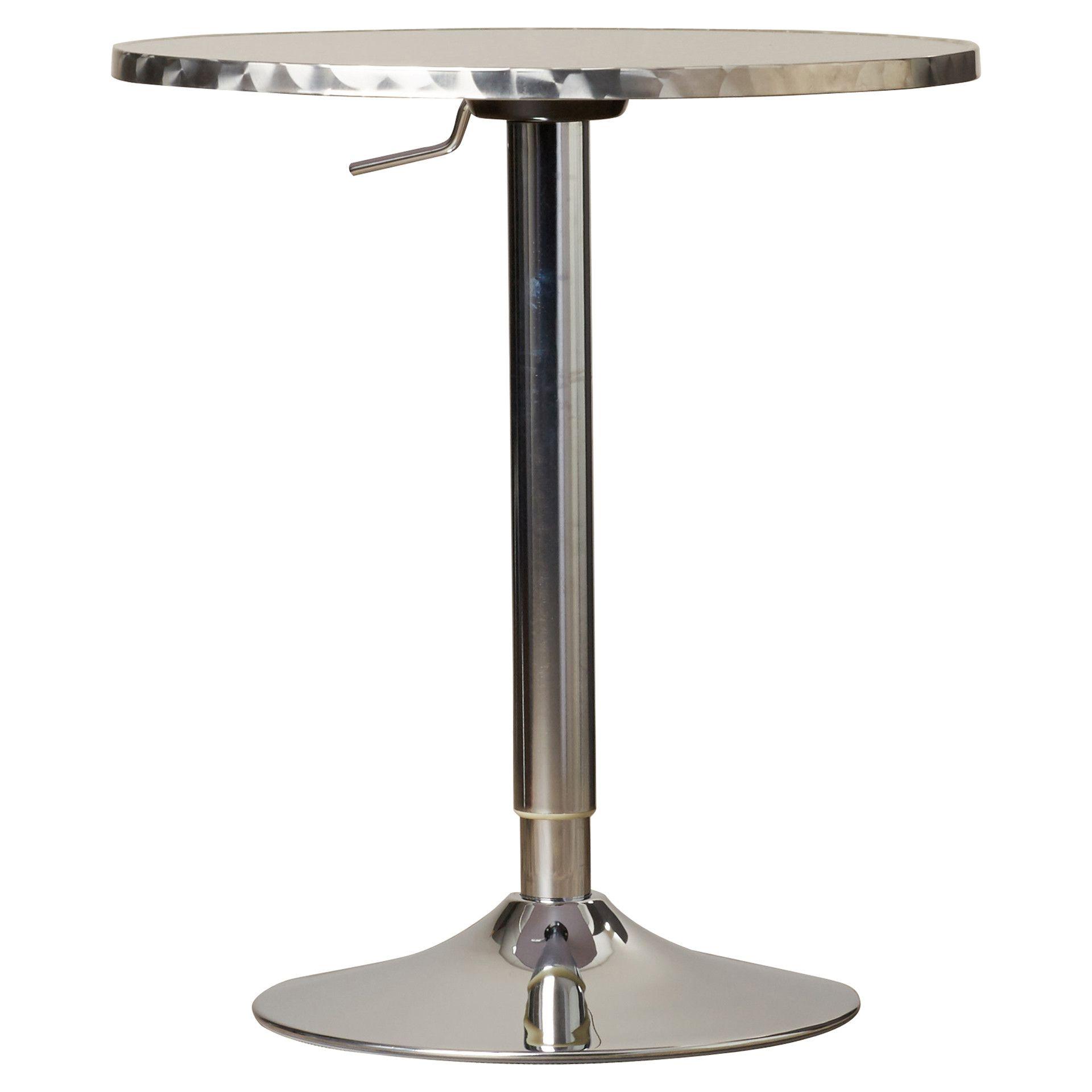 Adlai Adjustable Pub Table Products Pinterest Products - Adjustable height cafe table