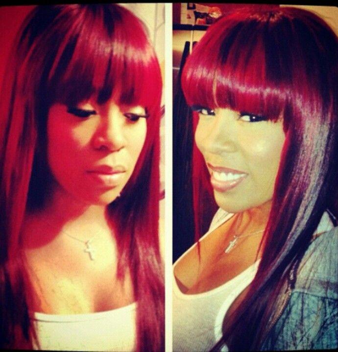 K Michelle Love Her Hairlicious Pinterest Hair Hair Styles