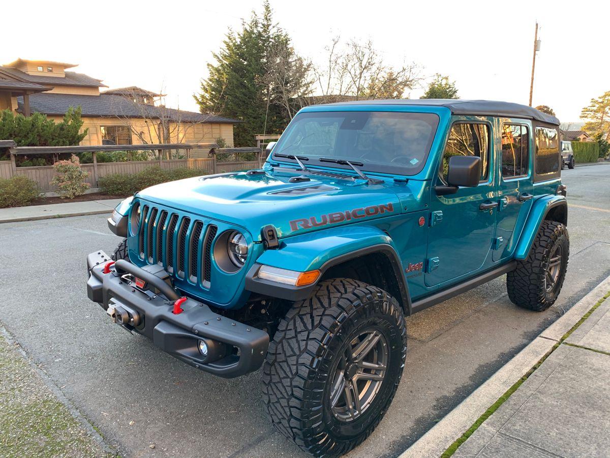 2020 Jeep Wrangler Rubicon Bikini Pearl in 2020 Jeep